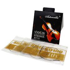 Set di corde per violino d'argento avanzato 4/4 A, G, D, E