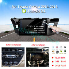 Android 9.1 For Toyota Corolla 2014 - 2016  Car Radio DVD Player GPS navigation