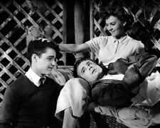 "NATALIE WOOD - JAMES DEAN - SAL MINEO - 10"" x 8"" Photo REBEL WITHOUT A CAUSE '55"