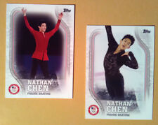 Trading Card Lot~ NATHAN CHEN ~2018 USA Winter Olympics Figure Skating ~Topps