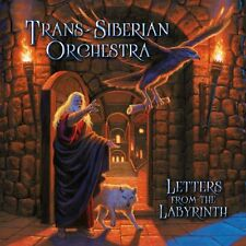 TRANS-SIBERIAN ORCHESTRA CD - LETTERS FROM THE LABYRINTH (2015) - NEW UNOPENED
