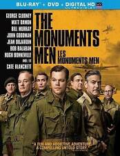 The Monuments Men (Blu-ray/DVD, 2014, 2-Disc Set, Canadian)