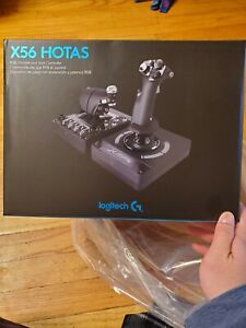 Logitech Pro Flight X56 HOTAS Simulator - New/Sealed In Hand Ships Fast