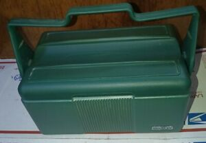 Vintage Stanley Aladdin Insulated Plastic Lunch Box Pail w/ Thermos Holder