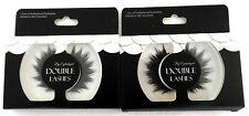 2 x Sets Eyelashes Eyelash False Eye Lash Double
