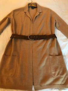 Rebecca Moses camel cashmere jacket/cardigan: Immaculate