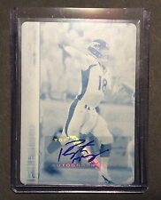 2015 Topps Field Access PEYTON MANNING - 1/1 - Auto Printing Plate - RARE!!!