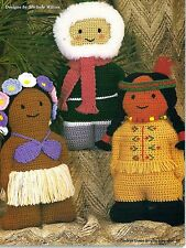 ADORABLE Native American Pals/Doll/Toy/ Crochet Pattern INSTRUCTIONS ONLY
