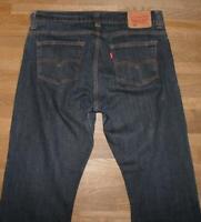 """>>>> LEVI`S 506 Herren JEANS / LEVIS Blue- Jeans in dkl.- blau ca. W35"""" /L31"""""""
