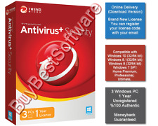 Trend Micro Antivirus + Security | 3 PC | 1 Year | Brand New | Online Delivery