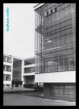 Lucia Moholy Nagy Gropius costruzione poster immagine stampa d'arte & telaio in alluminio nero 59x84cm