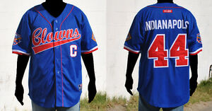 NLBM Negro League Baseball Jersey - Indiana Clowns