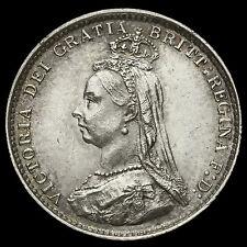 1887 Queen Victoria Jubilee Head Silver Threepence