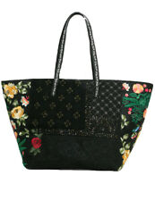 Desigual Martinika Sporty Floral Bag RRP �84 Embroidered Flowers & Beading