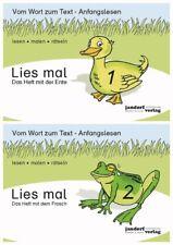Lies mal Hefte 1 und 2 (Ente und Frosch - Auflage 2015) als Paket