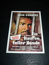 THE HILL, film card [Sean Connery, Harry Andrews, Ian Bannen]