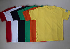 Niños Camisetas 100% Algodón Gr.104, 116 128 , 140,152 Etiqueta Lexi Nueva