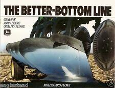 Farm Implement Brochure - John Deere - Moldboard Plows - 1990 (FB820)