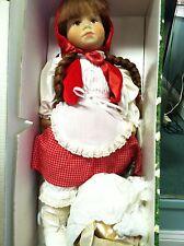 Karin Heller Fine Quality  German Cloth Dolls MIB  SEE LARGE SELECTION