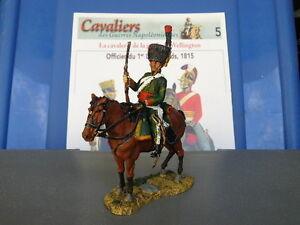 SOLDAT NAPOLEON DEL PRADO N° 15 CAVALIER CHASSEUR A CHEVAL DE LA GARDE IMPERIALE