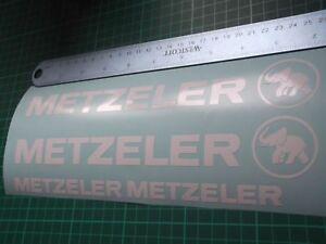 Metzeler Cut Decal..on 12 year vinyl.. x4