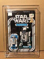 1978 VINTAGE STAR WARS **12-BACK-A R2-D2 MOC FIGURE** KENNER AFA STYLE CASE