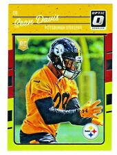 2016 Donruss Optic RED & YELLOW HOLO REFRACTOR SEAN DAVIS RC Steelers RETAIL