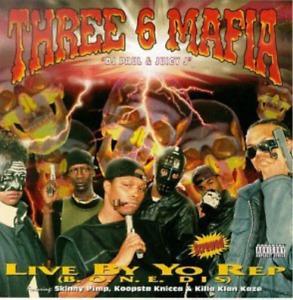 THREE 6 MAFIA-LIVE BY THE REP CD NEUF