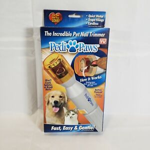 PediPaws Pedi Paws As Seen On TV Pet Nail Rotary Trimmer
