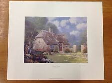 "Thomas Kinkade ""Spring at Stonegate"" 24x20"" Hand Signed Examination Print"