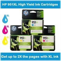 HP 951XL High Yield Single or Multi-Pack Original Ink Cartridges, EXPIRE 2020-21