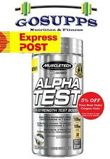 MuscleTech Pro Series AlphaTest 120 Caps Test HD JYM Alpha Super Pure