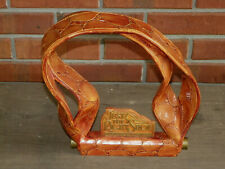 """11 3/4"""" Wooden """"Just The Right Shoe Accessories"""" Partial Advertising Display Pc"""