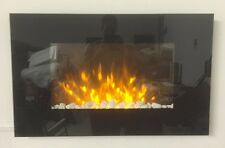 NEW 2018 LED FLAME EFFECT TRUFLAME FLAT WALL MOUNTED ELECTRIC FIRE