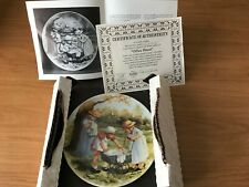 Office Hours by Jeanne Down Collectors Plate