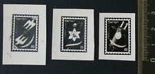 Israel, 1951, New Year Stamps, 3 Photo Essays, Signed  By Tsachor #a2340