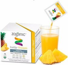 Zoganic fruitZip Herbal Supplement Drink Mix for Digestive Support – Organic Pro