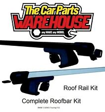Full Roof Rack Bar Kit SUM500 Mountney WITH RAILS ~ BMW 5 SERIES Touring F11