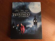 An American Werewolf In London (Blu-ray, Limited Edition Steelbook, Oop)