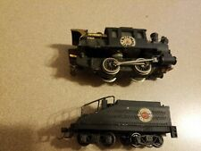 HO Scale 0-4-0 Steam Locomotive & Tander  The New One Model