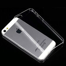 Thin Transparent Clear Back Hard Case Cover Skin For Apple iPhone 5 5G 5S