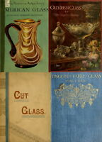 116 RARE OLD BOOKS ON GLASS MAKING BLOWING MANUFACTURING CUTTING COLLECTING DVD