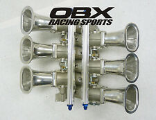 OBX Individual Throttle Body ITB Fit for Nissan 350Z VQ35DE 3.5L V6 SF51 Taper