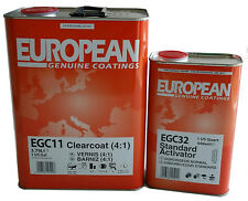 European  Clearcoat EGC11 (4:1) - 1GAL /W 1QT Medium Activator