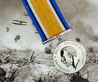 British WW1 WAR Medal - FULL SIZE - UK Made Military Service Award Decoration