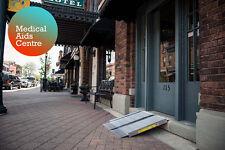 2 ft EZ-ACCESS Aluminium Folding Wheelchair Suitcase Ramp Portable Mobility Aid