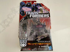 Transformers Generations - Deluxe Fall of Cybertron Shockwave (New, MOSC)