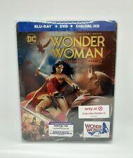 Wonder Woman (TARGET) Exclusive Steelbook (Ltd Ed) **VHTF**