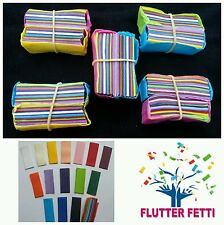 10 block bag of Flutter Fetti party slow fall Confetti for party celebration