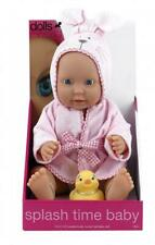 Peterkin DOLLS WORLD SPLASH TIME DOLL - BABY GIRL Toddler Child Play Toy BNIP